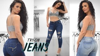 Download 4 Jeans Try on with Viktoria Kay   NEW! Video
