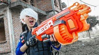 Download LTT Game Nerf War : Winter Warriors SEAL X Nerf Guns Fight Crime Group Rocket Armed Police Video
