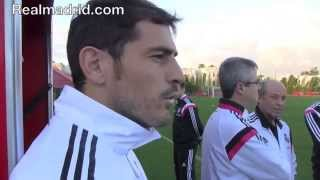 Download BEHIND THE SCENES: Impresionante exhibición de memoria de Iker Casillas Video