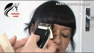 Download Short Fringe Using Clippers - Haircut - Cutting Hair Video