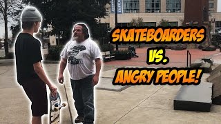 Download SKATERS vs. HATERS #31! | Skateboarding Compilation | Skaters vs Angry People Video