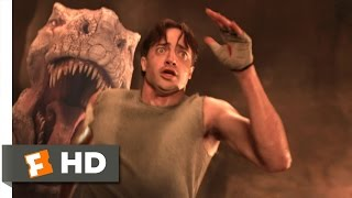 Download Journey to the Center of the Earth (9/10) Movie CLIP - Running From the Tyrannosaurus (2008) HD Video