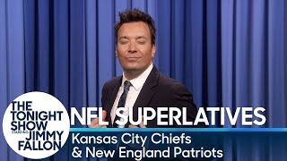 Download Tonight Show Superlatives: 2018 NFL Season - Chiefs and Patriots Video