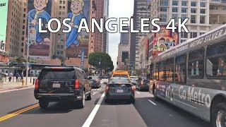 Download Driving Downtown - Los Angeles 4K - USA Video