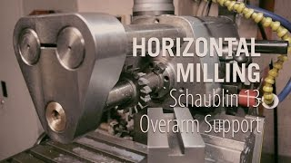 Download Horizontal Milling - Building the Overarm Support Video
