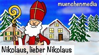 Download Nikolaus, lieber Nikolaus - Nikolaus Lied | Weihnachtslieder deutsch | Kinderlieder - muenchenmedia Video