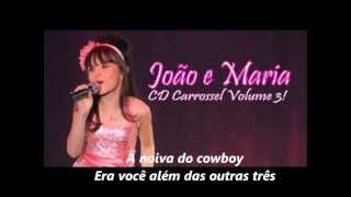Download JOÃO E MARIA - Larissa Manoela e Adriana Del Claro LEGENDADO Video