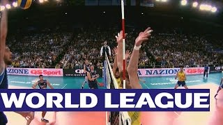 Download Italy v Brazil - Highlights - FIVB Volleyball World League Video