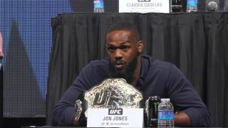 Download Daniel Cormier, Jon Jones verbally battle at UFC Undisputed presser Video