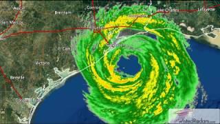 Download 2008 Hurricane Ike Landfall Doppler Radar Time Lapse Video