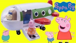 Download PEPPA PIG's Holiday Plane Playset! Traveling & Toy Hunting Video