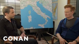 Download Conan & Jordan Schlansky Plan Their Trip To Italy - CONAN on TBS Video