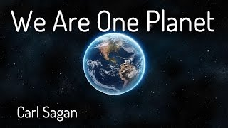 Download We Are One Planet - Carl Sagan Video