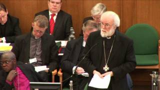 Download Archbishop Rowan Williams speaks on women bishops Video