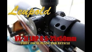 Download Leupold VX-3i LRP 8.5-25x50mm FFP with TMR Reticle Video