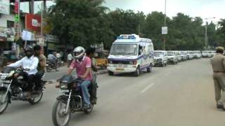 Download ″AMBULANCE AWARENESS RALLY 1st Time Worldwide″ at Karimnagar-A.P, INDIA. Courtesy: IYSO Team INDIA Video