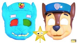Download Making PAW PATROL CHASE w/ Kinetic Sand, PEZ, Slime, Mask, Surprise Toy Games - LEARN COLORS Video