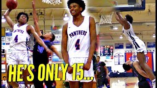 Download He's ONLY 15 & Ranked Higher Than Players Older! The BEST 15 Y/O In AMERICA, Jalen Green Drops 34!! Video