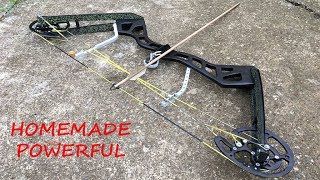 Download Making a Full Size Compound Bow | Aluminum Riser | Powerful Video