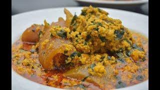 Download HOW TO MAKE EGUSI SOUP - NIGERIAN EGUSI SOUP - ZEELICIOUS FOODS Video