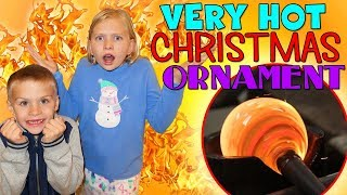 Download MOST DANGEROUS CHRISTMAS ORNAMENT EVER! 2400 DEGREES HOT! Video