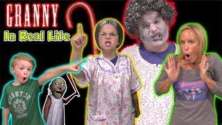 Download Granny Game in Real Life - She has a SECRET Granddaughter! | DavidsTV Video