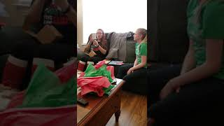 Download Asking my stepmom to adopt me as her Christmas present. Video
