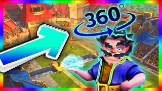Download ANIMATION CLASH ROYALE / CLASH OF CLANS : ELECTRO WIZARD [ 360 °] Video