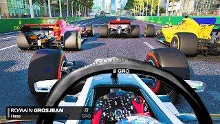 Download LAST TO ? CHALLENGE - Romain Grosjean F1 2018 Azerbaijan GP Challenge Video
