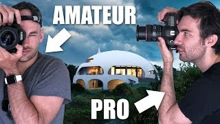 Download Amateur Vs Pro Architecture Photographer Shoot The ″DOME HOUSE″ Video