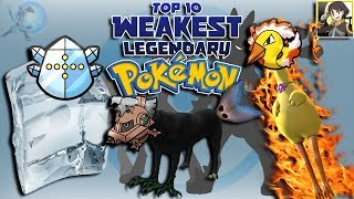 Download Top 10 Weakest Legendary Pokémon Video