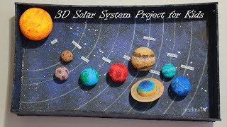 Download How to make 3D Solar System Project for Kids Video