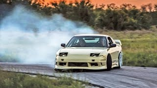Download Drifting my S13 in an Abandoned Development Video