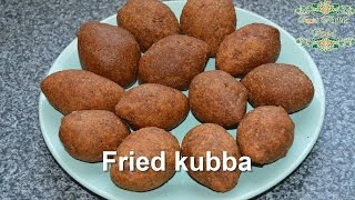 Download fried kubba - Syrian recipe - just Arabic food Video