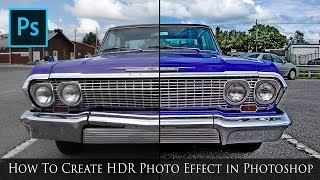 Download How To Create HDR Photo Effect in Photoshop - Photoshop CC Tutorial Video