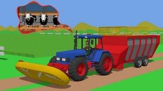 Download #Farmer mowing field of grass - Food for cows | Rolnik kosi trawe | Traktor Jedzenie dla Krów Video