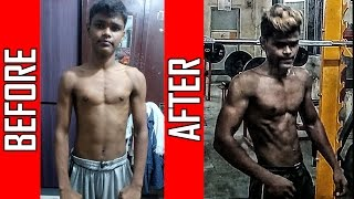 Download Nikhil Tayde   6 months Natural Body Transformation   Journey from Skinny to Fit Video