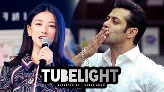 Download Chinese Actress Zhu Zhu OPENS On Salman Khan's TUBELIGHT Video