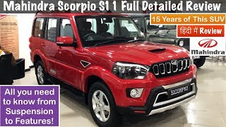Download 2018 Mahindra Scorpio S11 4WD Review | Scorpio S3,5,7,11 Features,Interior,Exterior Video