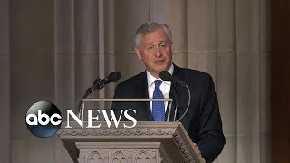 Download Presidential historian offers touching eulogy at Bush funeral Video