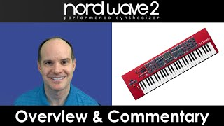 Download Nord Wave 2 Synth Overview (all talking) Video