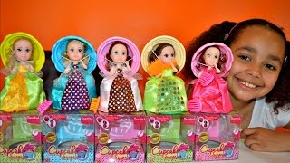 Download Princess Cupcake Surprise Transform Dolls With Scents - Lemon,Vanilla,Grape,Chocolate Video
