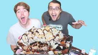 Download GIANT ICE CREAM SUNDAE (with SHANE DAWSON) Video