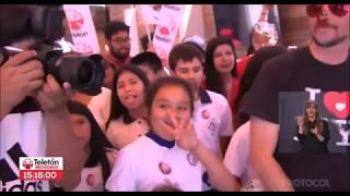 Download Teletón 2017: Felipe Camiroaga aparece vivo en Antofagasta Video