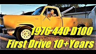 Download Super Rare 440 Dodge Truck FIRST DRIVE in 10+ years Video