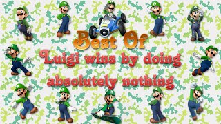 Download Best of Luigi wins by doing absolutely nothing Video
