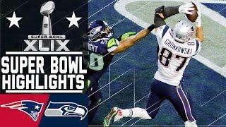 Download Super Bowl XLIX: Patriots vs. Seahawks highlights Video