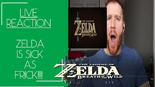 Download [REACTION] LIVE Zelda Breath of the Wild: Game Awards Trailer: UNREAL Video