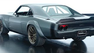 Download Dodge Supercharger Hellephant 1000HP Review 1968 Dodge Charger Restomod Hemi Video