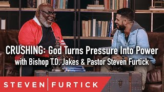 Download Crushing: God Turns Pressure Into Power with Bishop T.D. Jakes & Pastor Steven Furtick Video